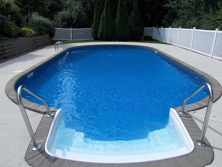 Best 25 oval pool ideas on pinterest oval above ground for Oval swimming pool
