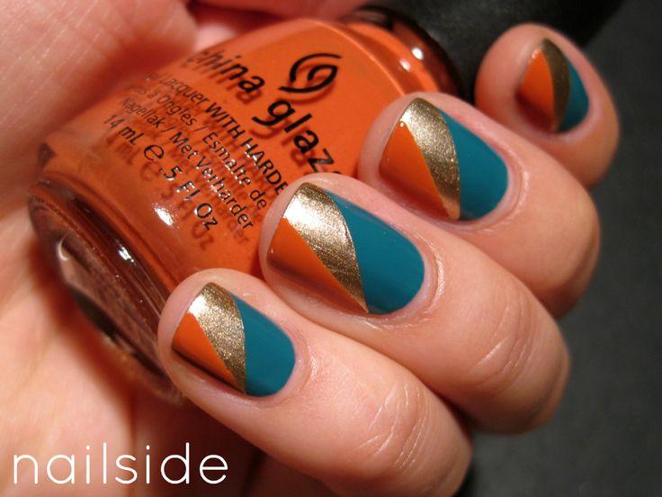 DIY Nail Designs We Love! Fall nails