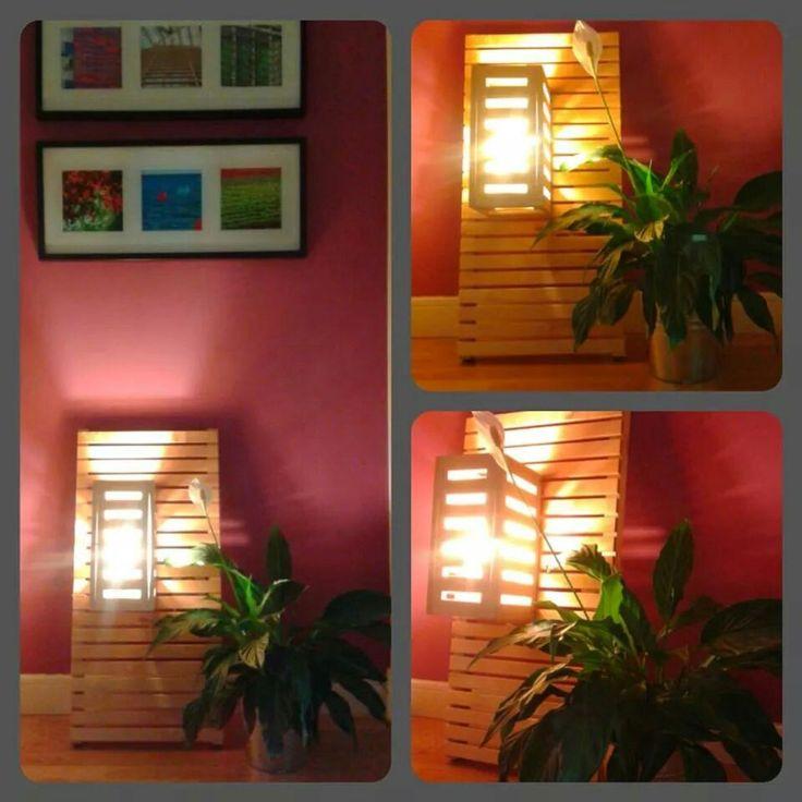 3.- DIY - Lamp: Lighted lamp