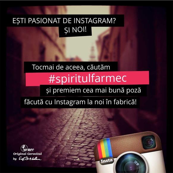 Farmec, primul brand romanesc care isi deschide portile pentru instagram! http://farmec.ro/presa/comunicate-de-presa/farmec--primul-brand-romanesc-care-isi-deschide-portile-pentru-instagram--eid658.html