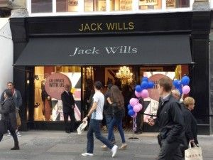 New Jack Wills store, Newcastle (27 Sep 2013). Photograph by Graham Soult