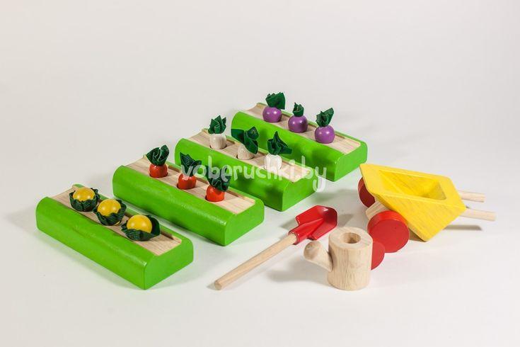 Набор Овощные грядки от Plan Toys (План Тойс)   Каталог детских игр и игрушек   «В обе ручки» — интернет-магазин игрушек всемирно известных брендов. Минск