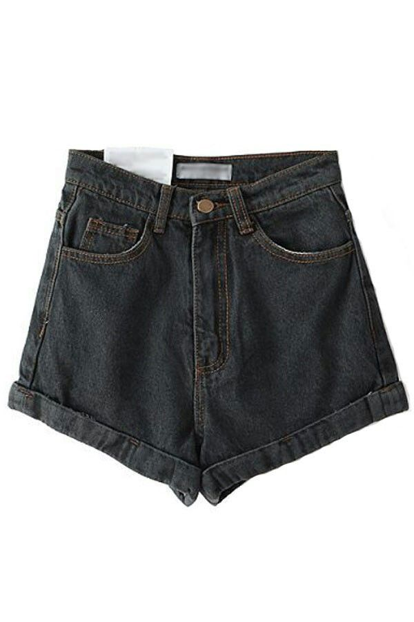 cef6a15e068259 shorts / polyvore | polyvore pngs | Denim shorts, High waisted shorts