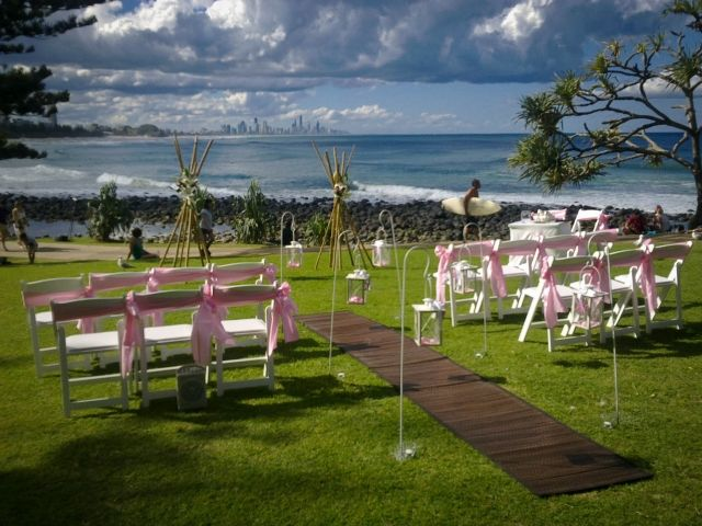 Circle of Love Weddings set up lovely Beach and Garden Weddings  Need help organising your special ceremony too?   Gold Coast Celebrations ~ Tennille Jones, Marriage Celebrant