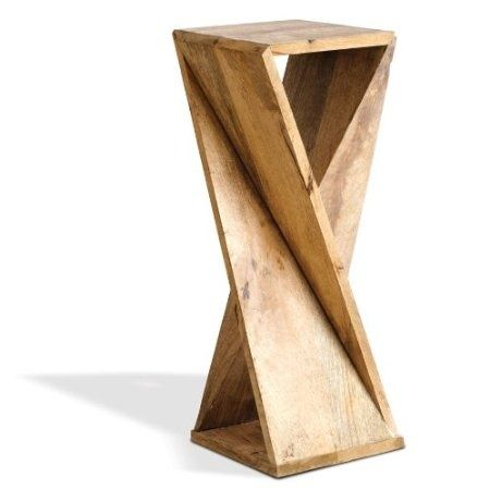 geometric end tables