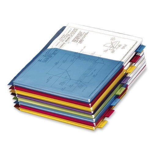 Cardinal Expanding Pocket FOLDERS Papers Storage