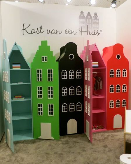 3 KAST VEN EEN HUIS adorable storage idea