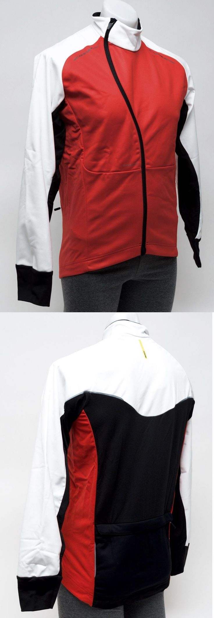 Jackets 36124: Mavic Cosmic Pro Men Wind Jacket Thermal Road Bike Cycling Medium Red White New -> BUY IT NOW ONLY: $34.95 on eBay!