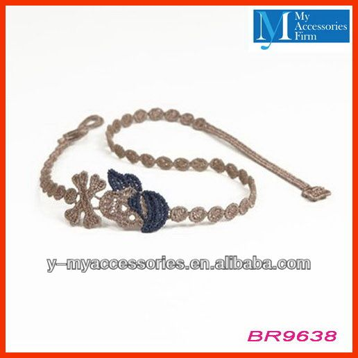 Factory sale high quality cruciani lace bracelets