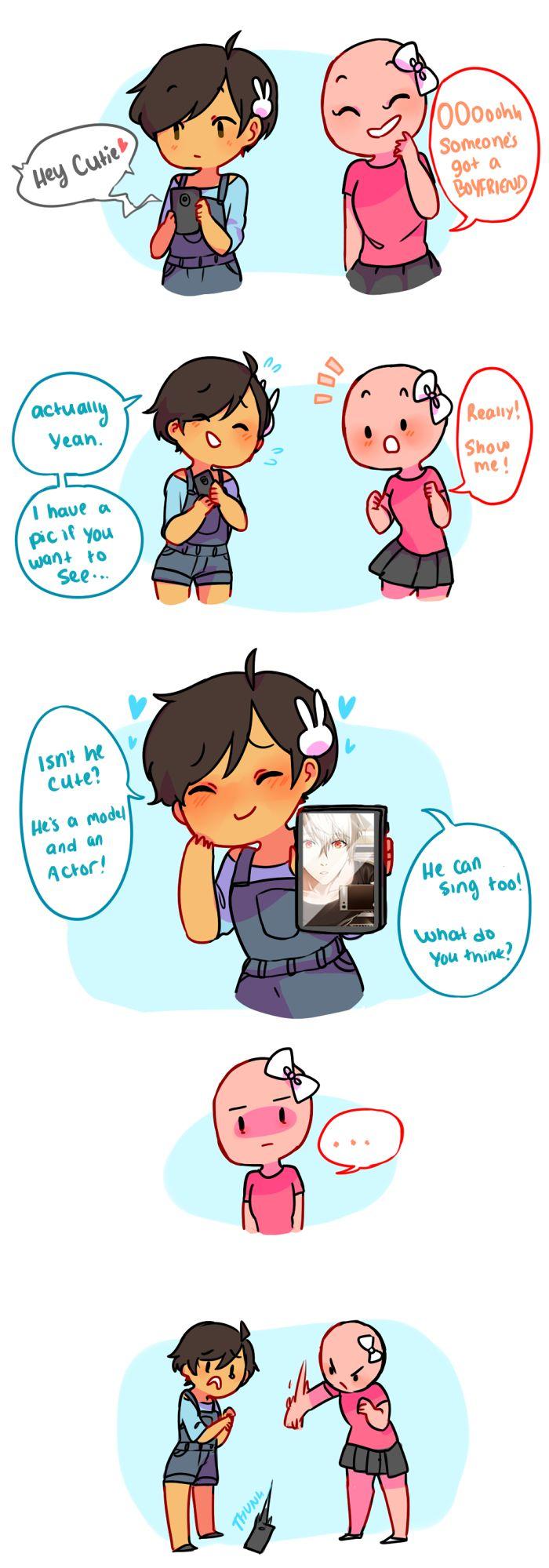 Anti-Social Media :: 55: Boyfriend?!?!? | Tapastic Comics - image 1