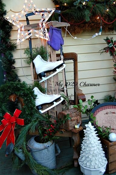 pinterest primitive christmas decor | just b.CAUSE