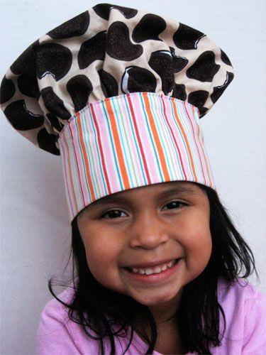 Kids's chef hat instructions