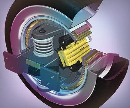 In wheel motor , Michigan Technological University
