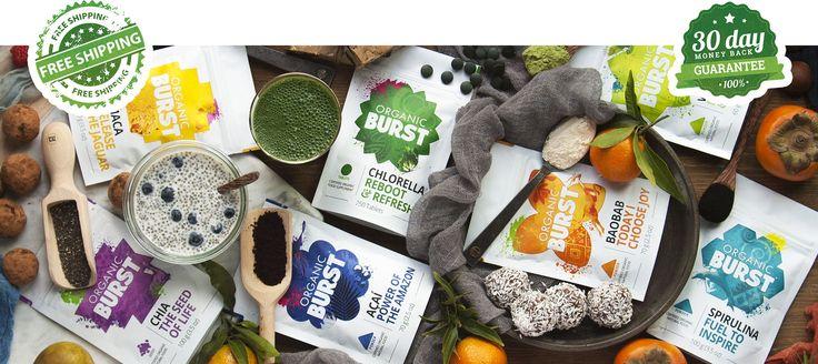 A multi-award winning international brand of organic superfoods.