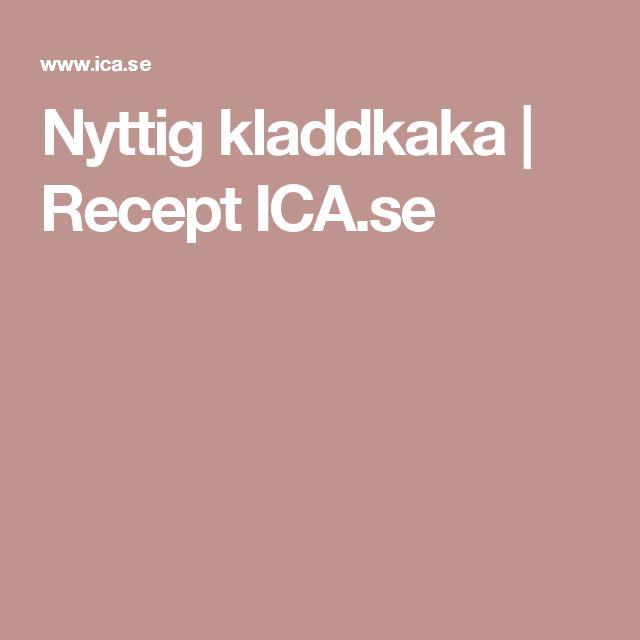 Nyttig kladdkaka | Recept ICA.se