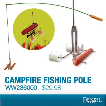 17 best images about regal gifts outdoor on pinterest for Fire fishing pole
