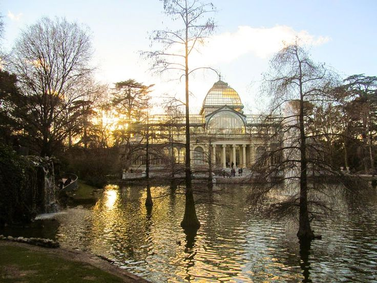 Crystal palace in Madrid, Retiro Park