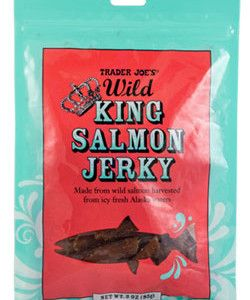 Trader Joe's Wild King Salmon Jerky -- Must be bought in stores