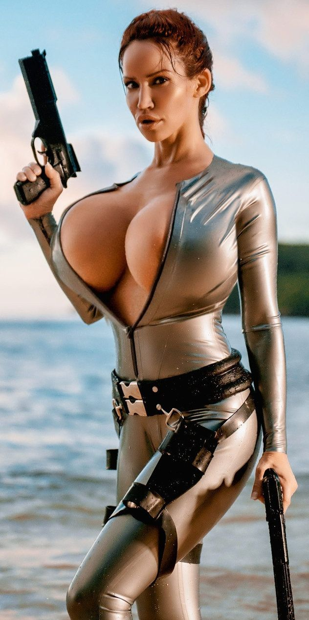 Sexy latex lara croft hentay picture