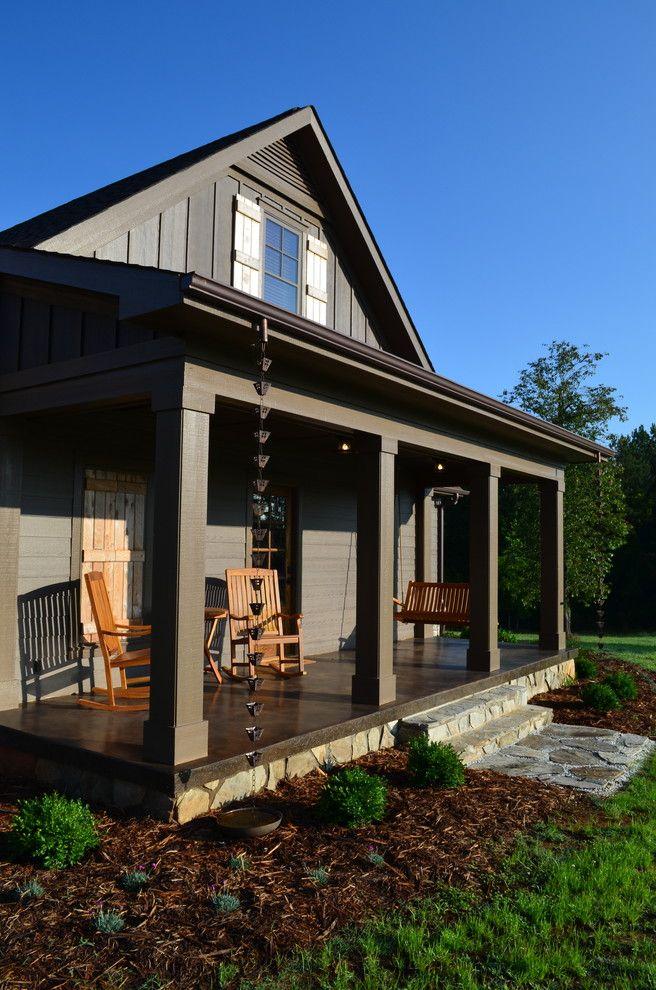 проекты домов с верандами фото имеет минимальные