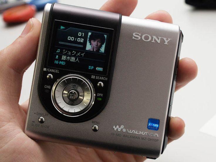MiniDisc Sony MZDH10P - www.remix-numerisation.fr - Capture Transfert Numérisation et sauvegarde durable d'enregistrements Audio et Vidéo - Rendez vos souvenirs durables