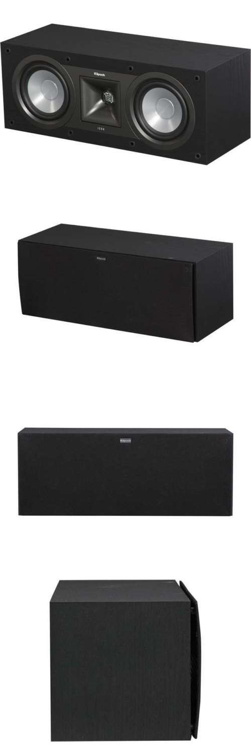 Home Speakers and Subwoofers: Klipsch Icon Kc-25 5.25 Center Speaker BUY IT NOW ONLY: $129.99