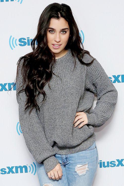 Lauren Jauregui she is wearing Brads sweater