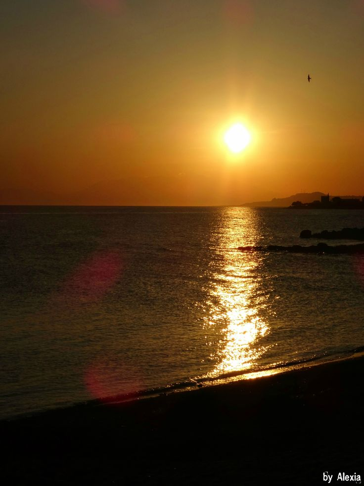 https://flic.kr/p/saFzaJ | No filters - Sunset | Greece-Halkdiki-Loutra