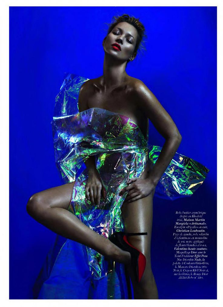 kate moss, mert & marcus, french vogue #fashion #editorial #color
