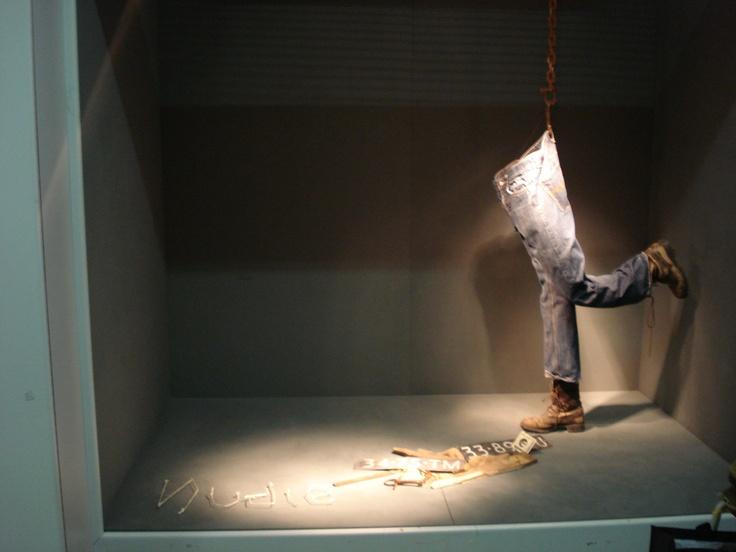 Etalage Nudie Jeans concept