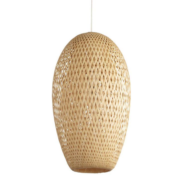 Suspension en bambou Leroy Merlin