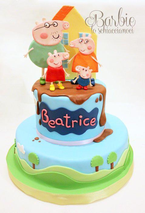 Peppa Pig Cake - Cake by Barbie lo schiaccianoci (Barbara Regini)