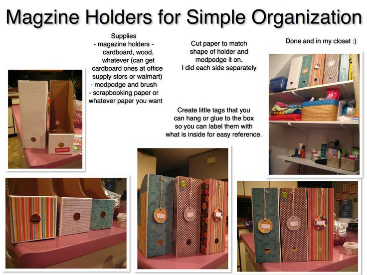 Exceptional Magazine Holders Used For Simple Storage And Organization You Can Buy The  Cardboard Ones At Most