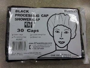 Beauty Town Processing Cap / Shower Cap 30pcs (Black) by Beauty Town. $1.99. Shower Cap. Processing Cap. Conditioning Cap. Extra Large. One Size Fits All