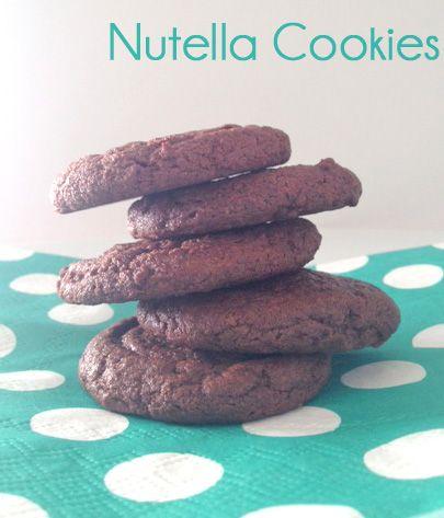 Chocolate Nutella CookiesCookies Brownies, Baking Yummy, Yummy Food, Nutella Fans, Nutella Cookies Y, Fans Smile, Chocolates Nutella, Baking Recipe, Yummy Treats