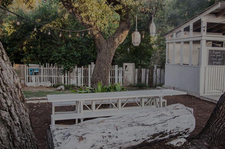 Lenoir in Austin Texas. Fixed menu and wine garden. Charming.
