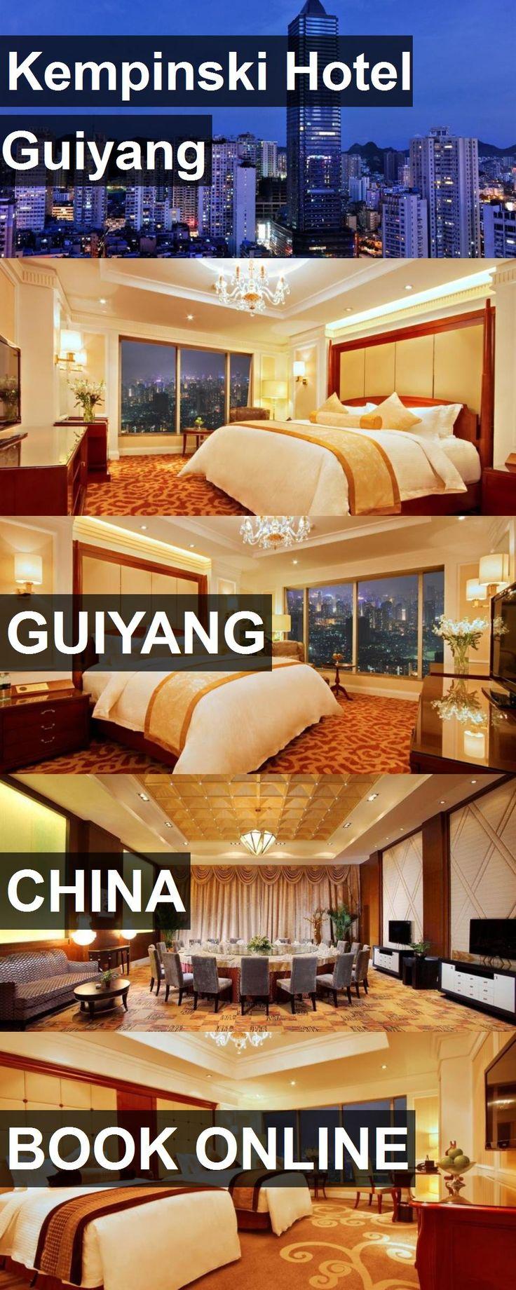 Hotel Kempinski Hotel Guiyang in Guiyang, China. For more information, photos, reviews and best prices please follow the link. #China #Guiyang #KempinskiHotelGuiyang #hotel #travel #vacation