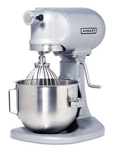 Hobart N50 5-Quart Mixer.  About a gazillion times better than kitchenaid.  [will.be.mine.... someday.]