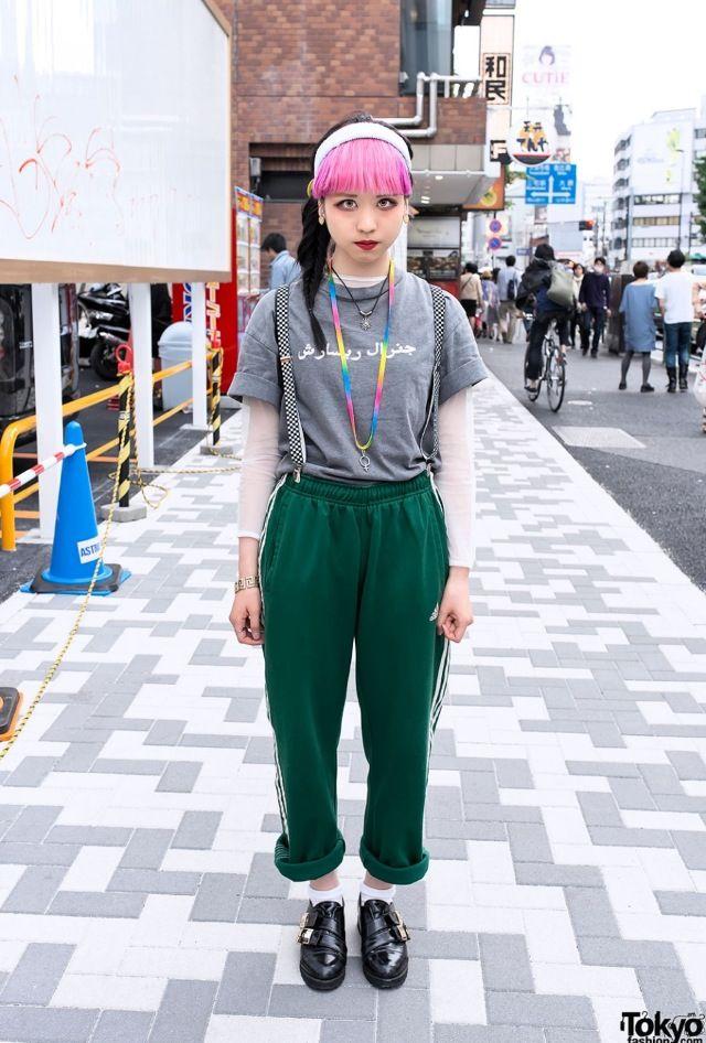 Vintage X Harajuku Street Style Japanese Fashion Harajuku Pinterest Harajuku Street And