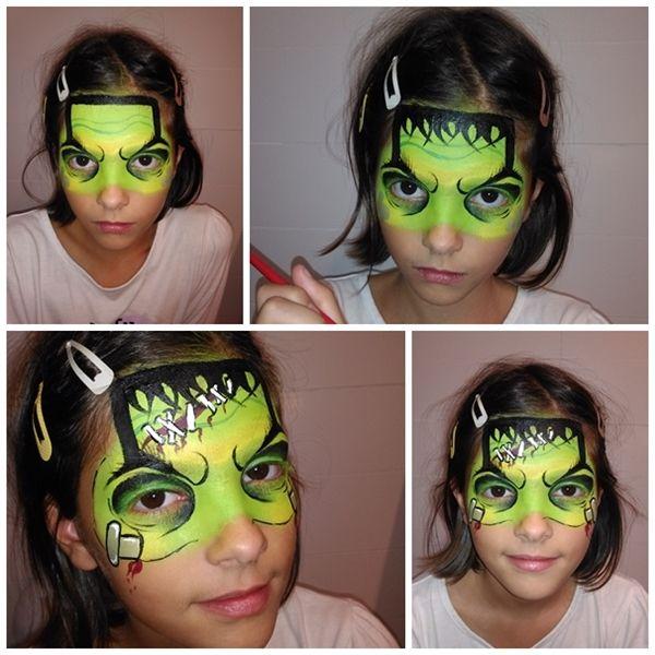 M s de 1000 ideas sobre pintura de cara de halloween en - Pintura cara halloween ...
