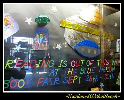 Reading is out of this world | Bulletin boards | Pinterest