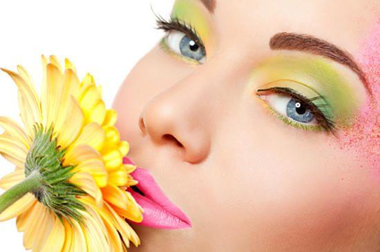 Весенний макияж - немного взбодримся! Пошаговая инструкция