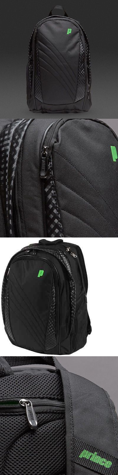 Bags 20869: Prince Textreme Backpack Tennis Racquet Bag Black Charcoal Green Brand New Nwt -> BUY IT NOW ONLY: $64.99 on eBay!