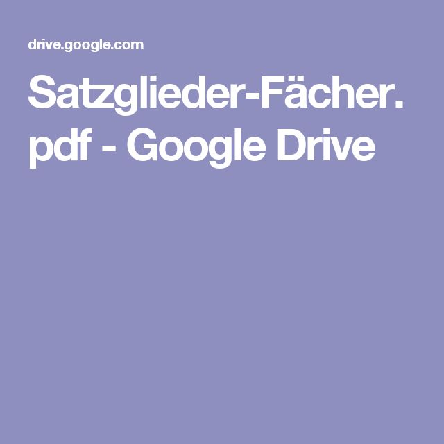 Satzglieder-Fächer.pdf - Google Drive