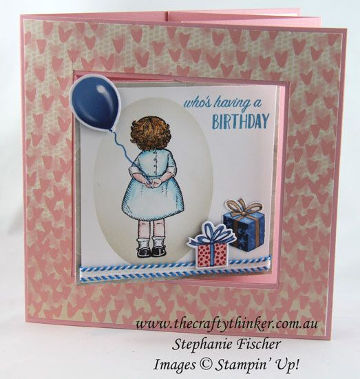 crazy crafters blog hop with special guest billie moan sneak peek 17th birthdaycard - Birthday Card Delivery