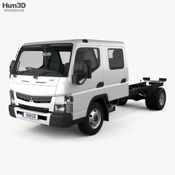 Mitsubishi Fuso Canter 815 Wide Crew Cab Chassis Truck With Hq Interior 2016 Mitsubishi Crew Cab Canter
