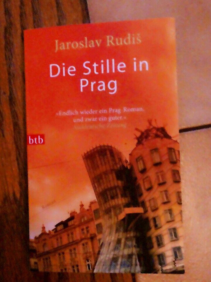 "One of my fav.books♥ ""Die Stille in Prag"" by Jaroslav Rudis"