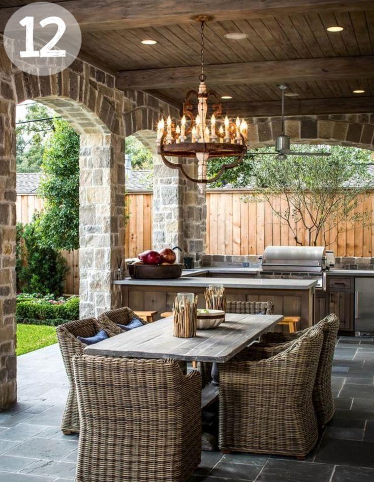 Bluestone Patio Under Second Story Deck · Backyard BbqPatio IdeasBackyard  ...