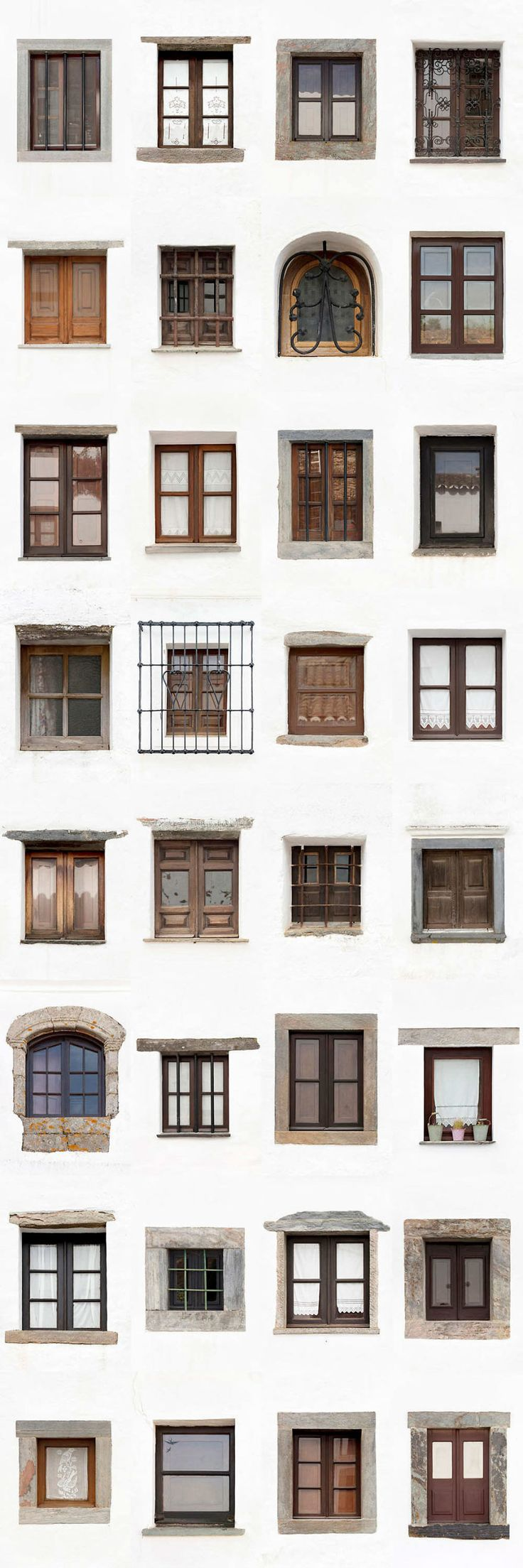 I Traveled All Over #Portugal To Photograph Windows, And Captured More Than 3200 Of Them - via BoredPanda 23-10-2017 | If you are planning a trip to Portugal, you can see which are the most beautiful cities to visit or what kind of architecture you like the most. Photo: Monsaraz