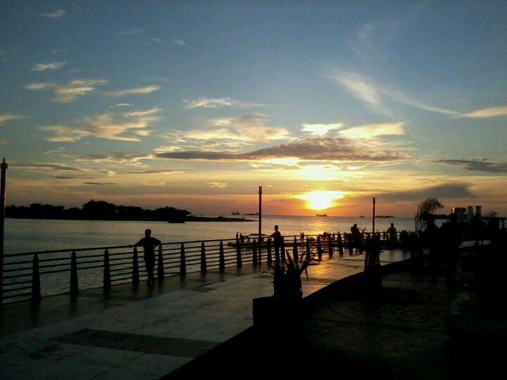Pantai Losari in Makassar, Sulawesi Selatan